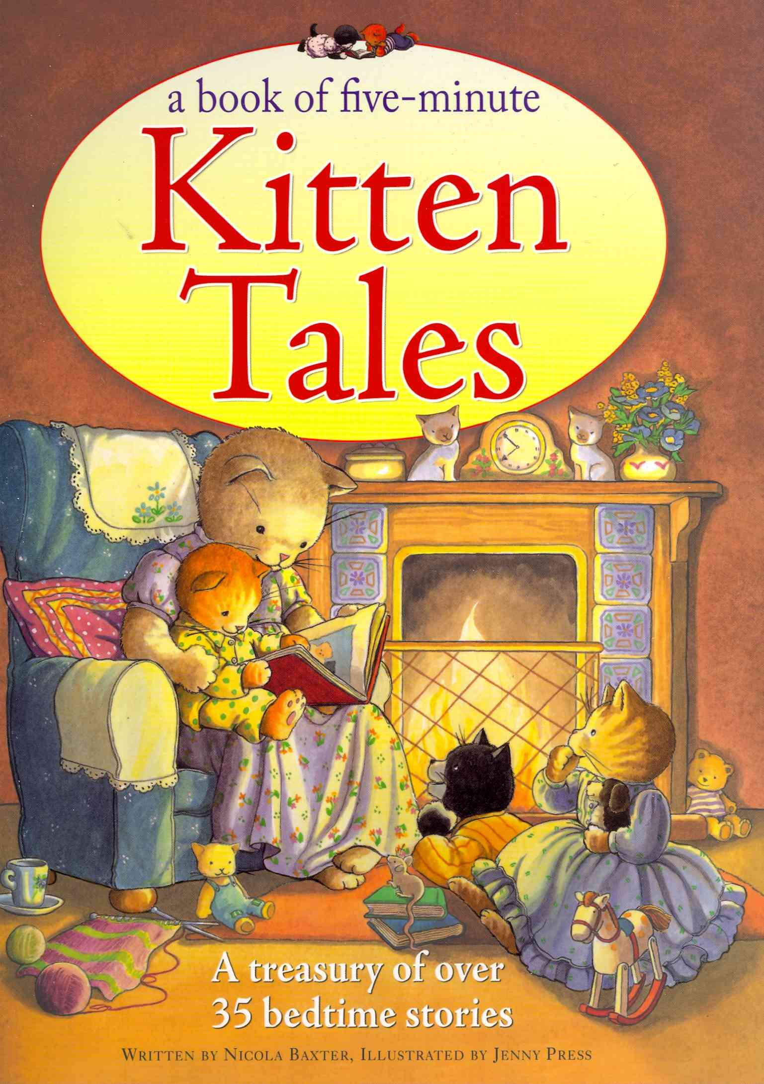 A Book of Five-Minute Kitten Tales By Baxter, Nicola